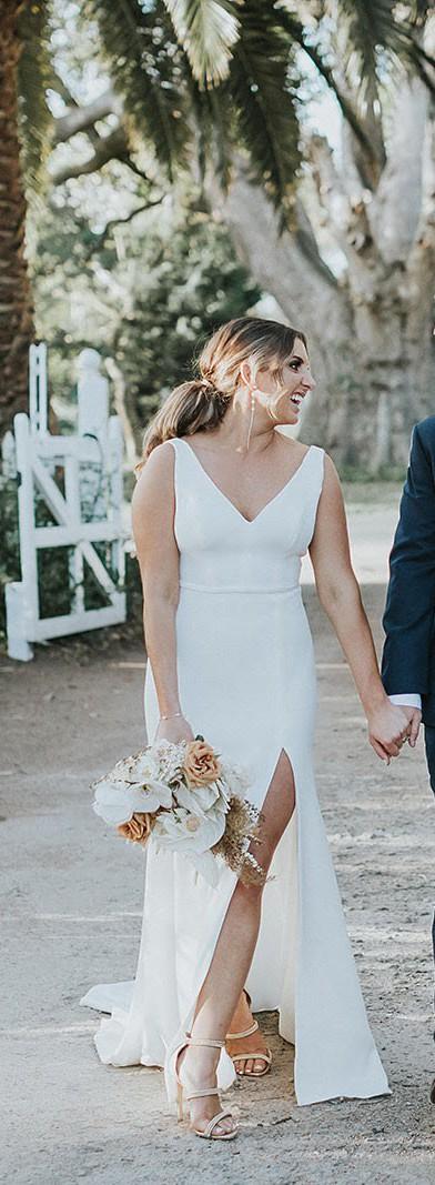 Alca Line Bride Prea James / Alyssa Kristin inspired- Classic whit