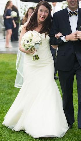 2399b487a0637 Vera Wang Second Hand Wedding Dress on Sale 78% Off - Stillwhite South  Africa
