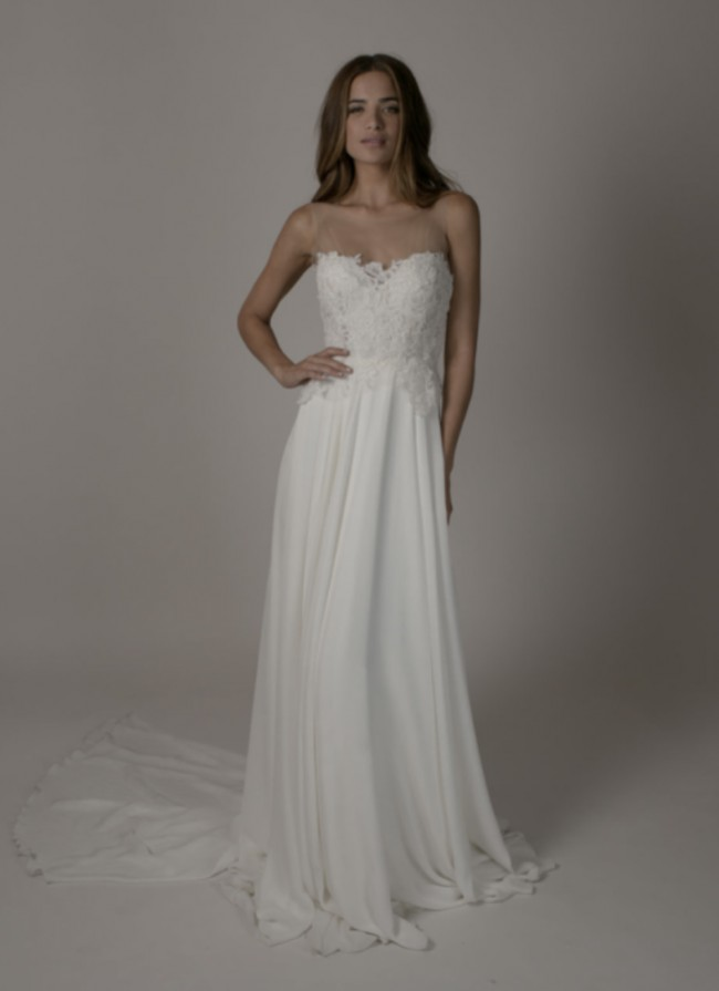 bdf4b5be17e Sarah Seven Harrison New Wedding Dress on Sale 51% Off - Stillwhite ...