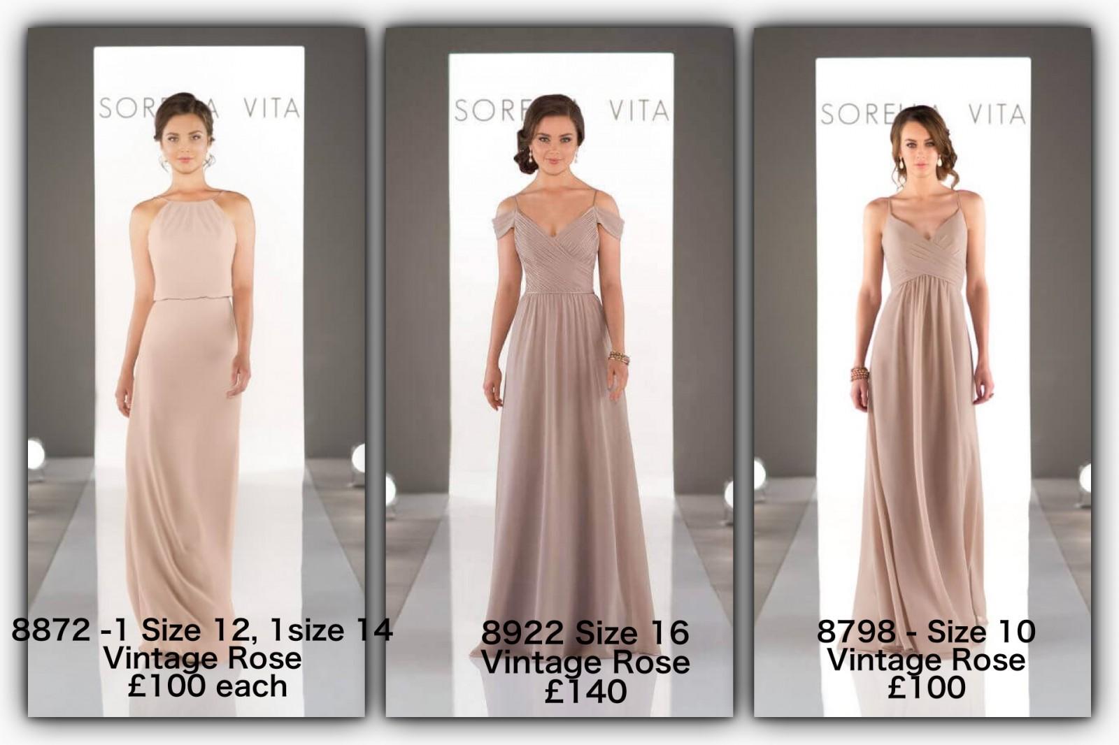 5c6e86b4cb1 Sorella Vita 8872 Sample Wedding Dress on Sale 50% Off - Stillwhite