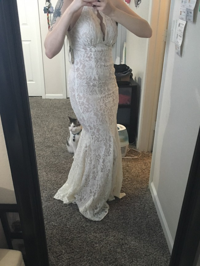 David's Bridal 21416 MIVYNUDE