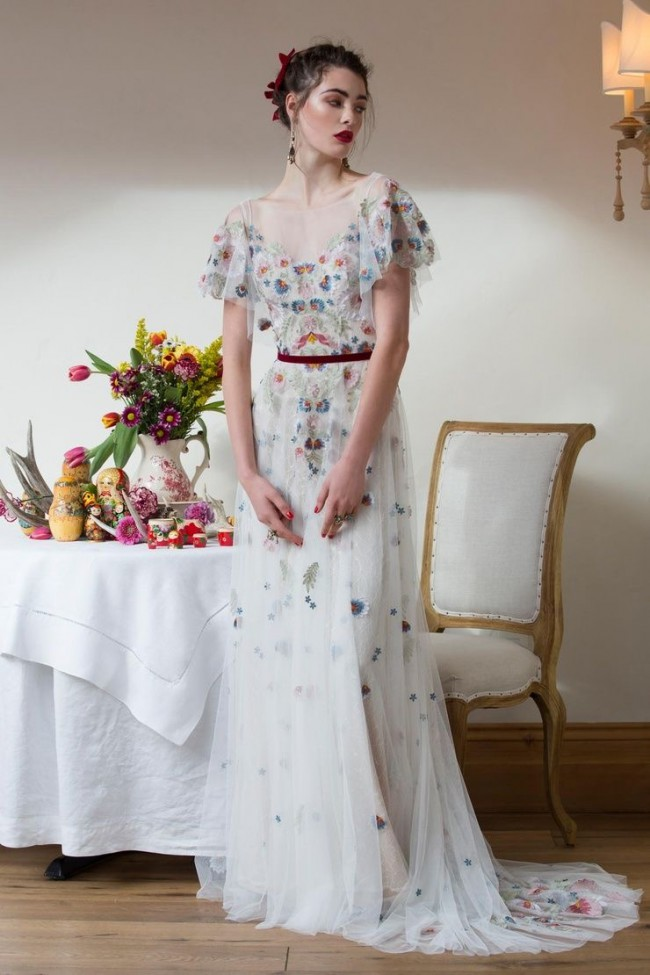 Willowby Heartleaf Gown