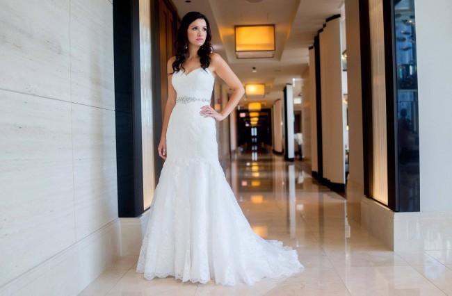 David's Bridal Style: V3680