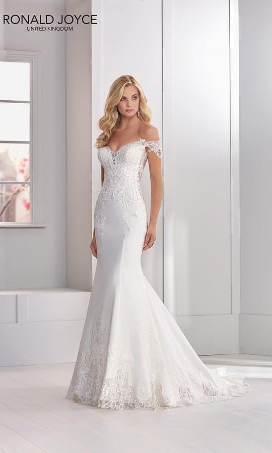 Ronald Joyce Nicolette Wedding Dress - 69301
