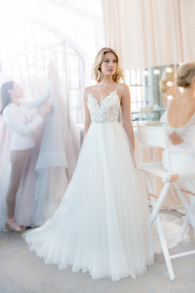 Blush by Hayley Paige 1820 Kai gown