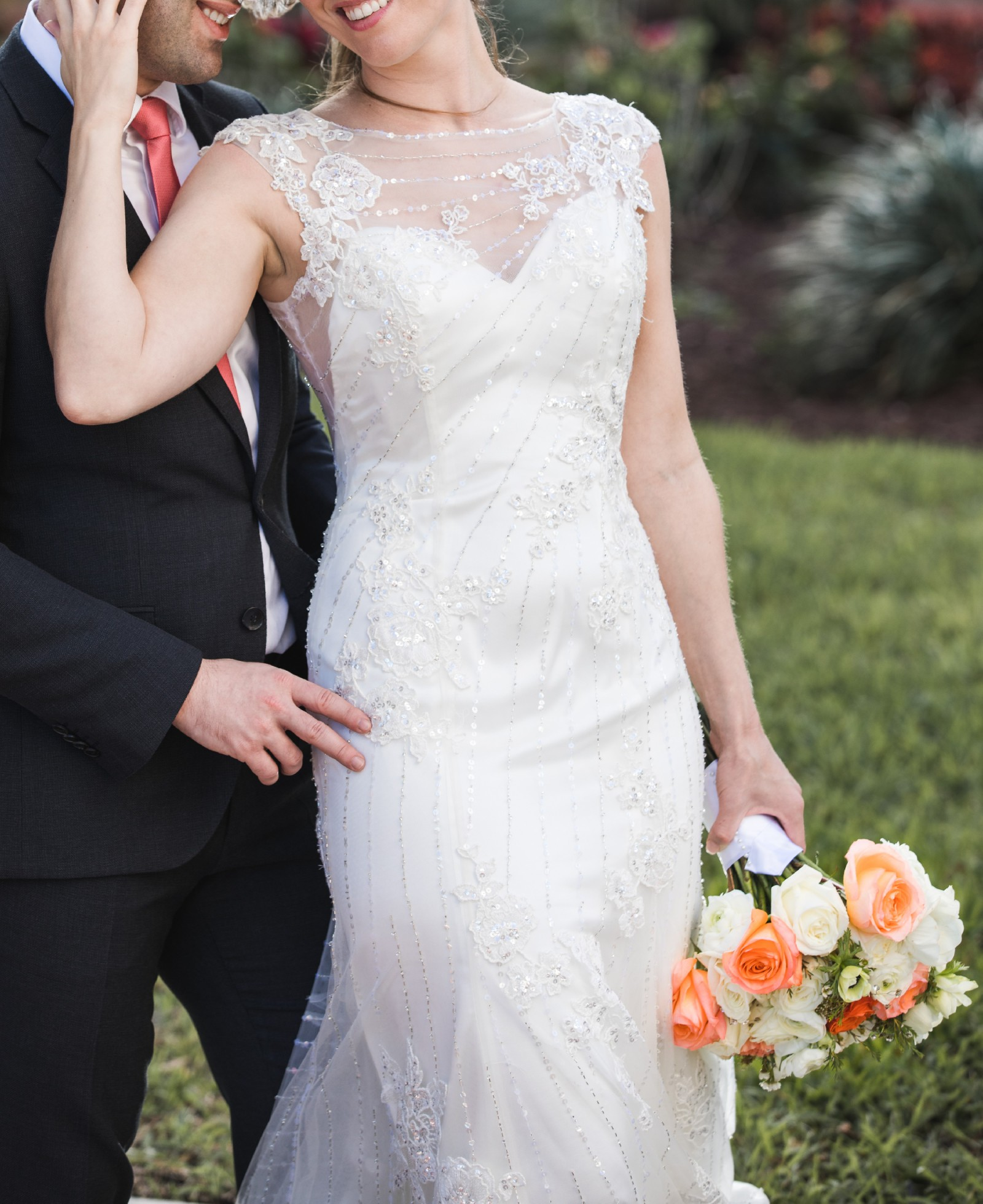 Wedding Hairstyle Prices: Coral Gables Bridal Style 131 Preowned Wedding Dress On