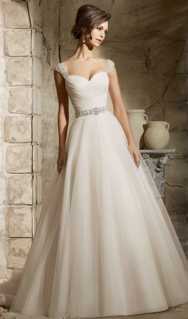 Morilee 5375 blu collection