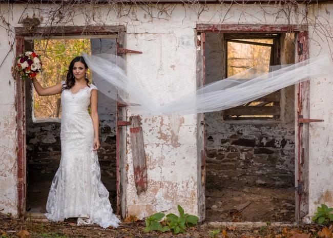 Allure Bridals 9068 and 9313