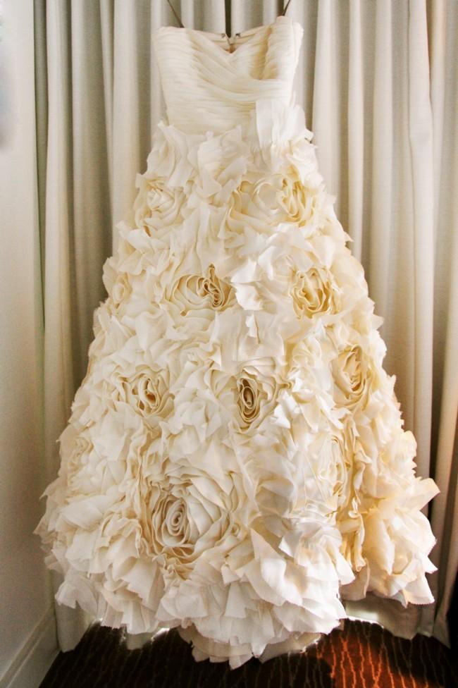 Monique Lhuillier Sunday Rose Used Wedding Dress On Sale 70 Off