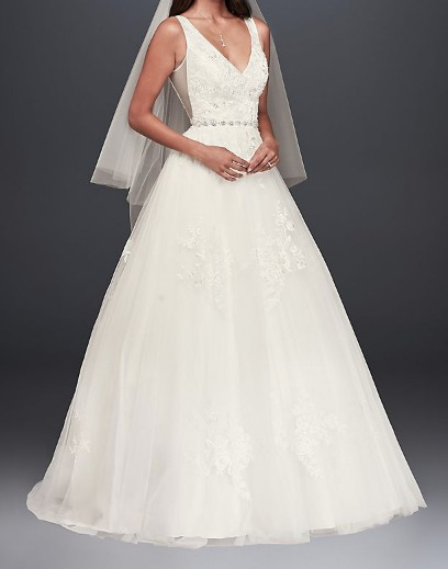 David's Bridal Collection WG3877