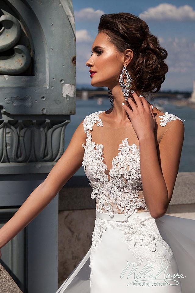 eb86265ae1d8 Milla Nova Naomi Second Hand Wedding Dress on Sale 44% Off ...