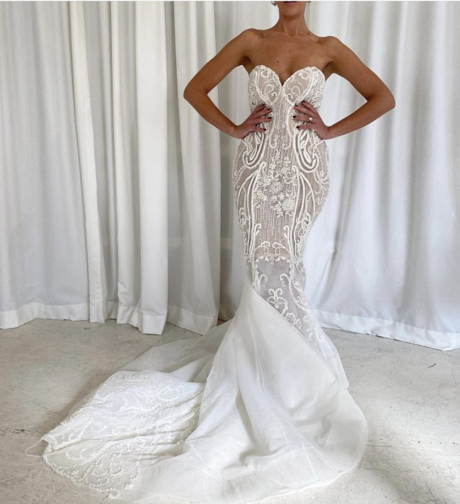 Pallas Couture Gisella Gown - Custom Made - RRP $17,500