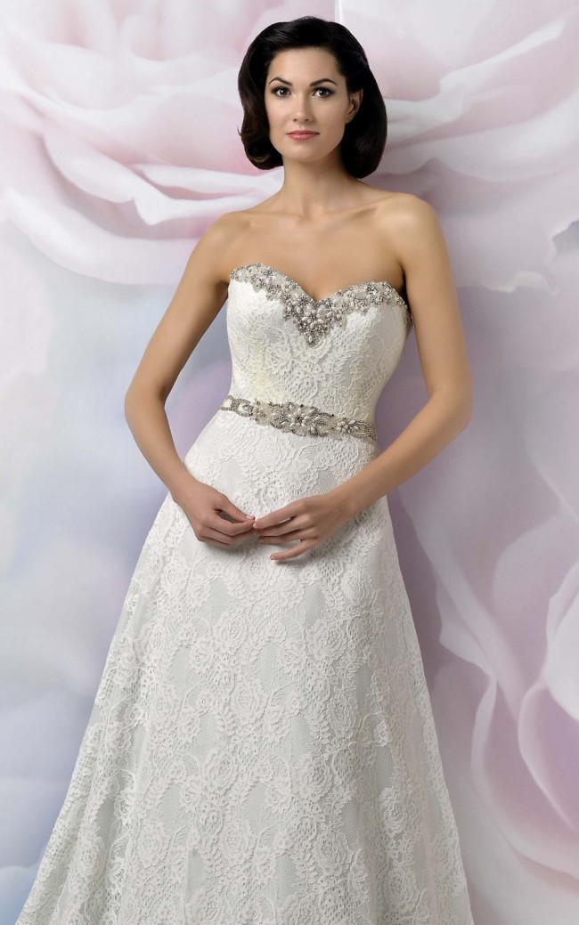 b6c7f26f871 Anjolique WA554 New Wedding Dress on Sale 79% Off - Stillwhite ...