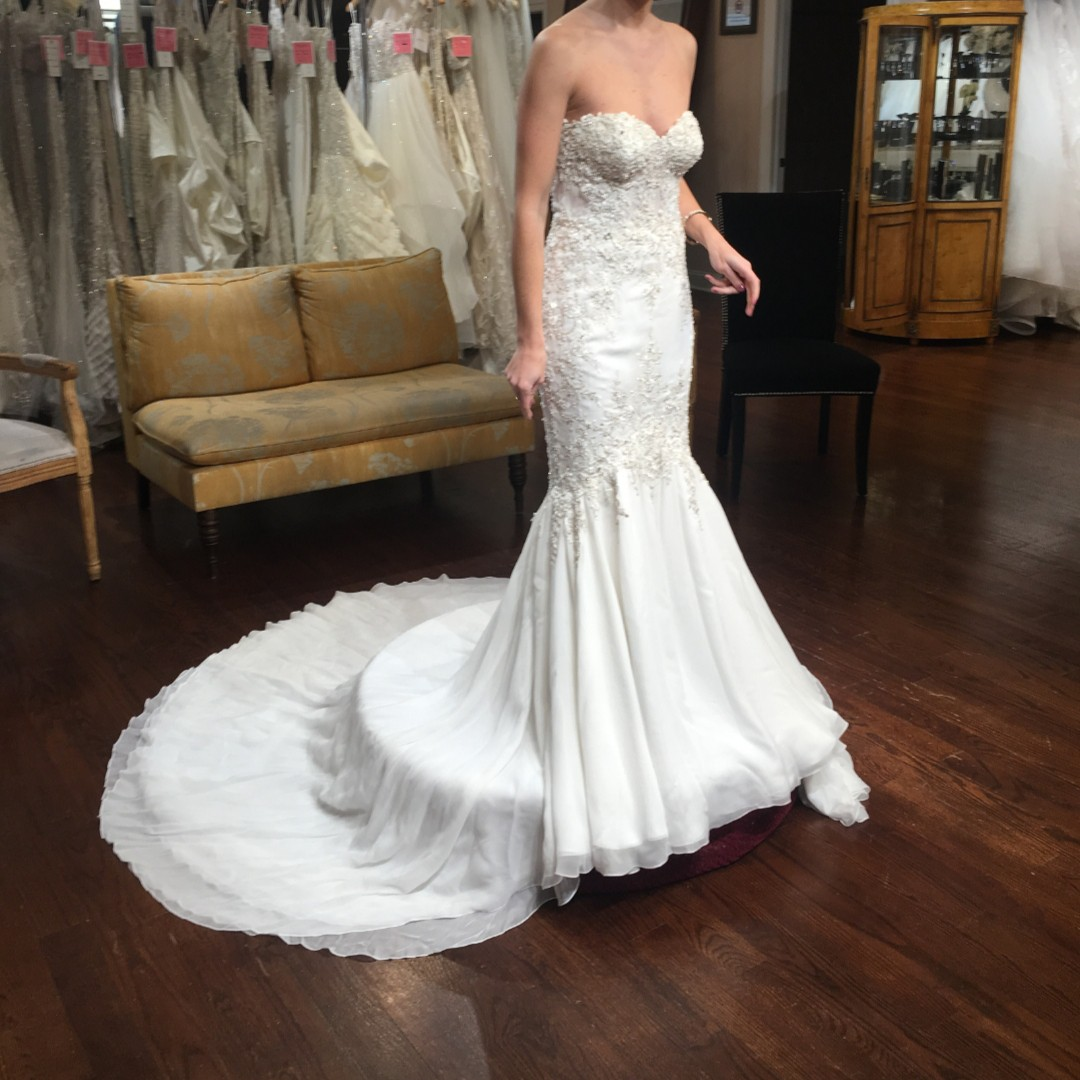 Stephen Yearick Second Hand Wedding Dress On Sale 63 Off