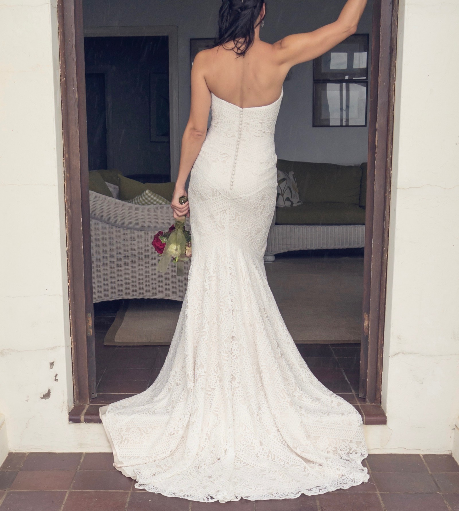 Second Hand Wedding Gown: Lillian West 6425 Second Hand Wedding Dress On Sale 26