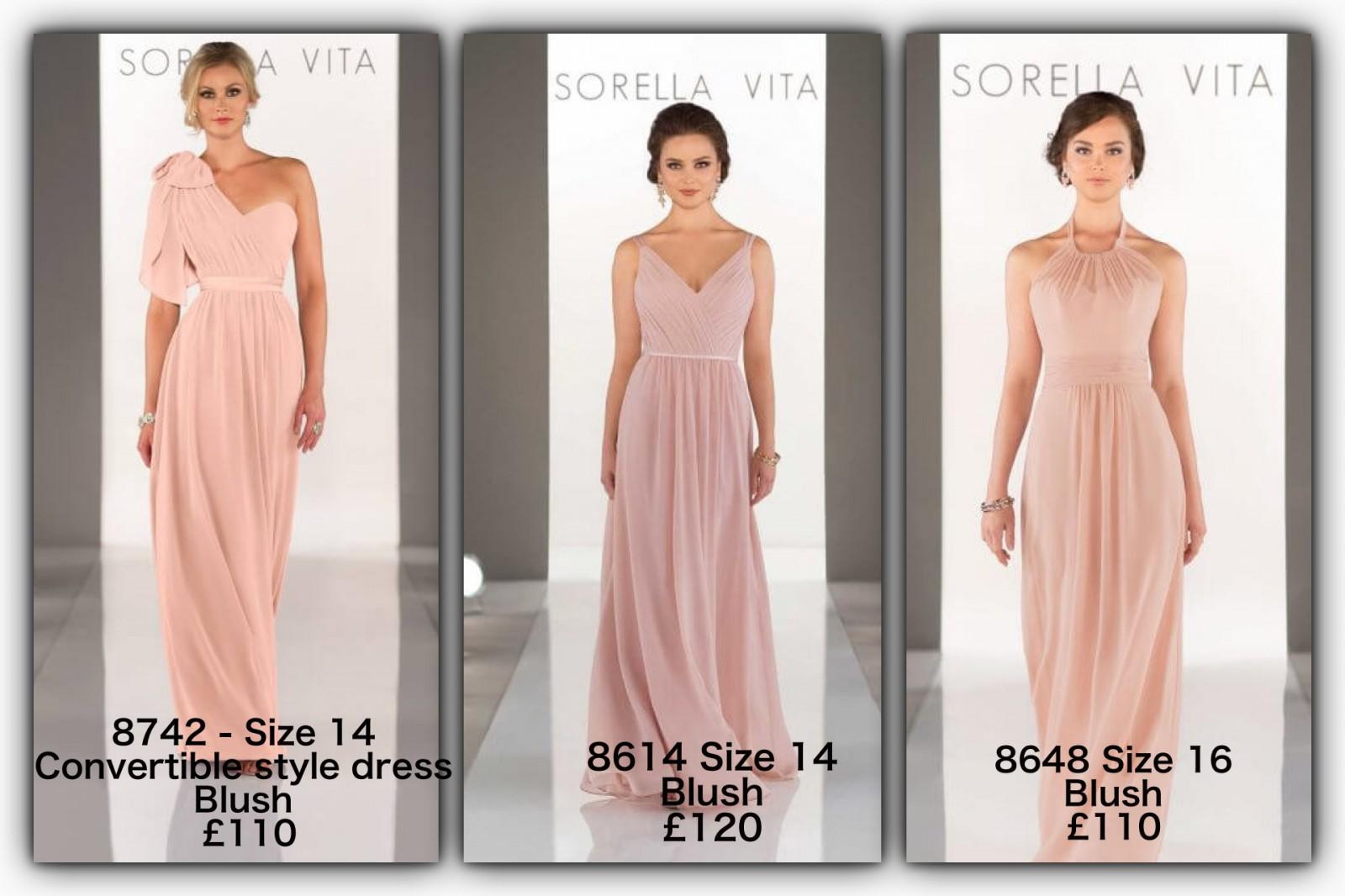 Sorella Vita 8742 Sample Wedding Dress on