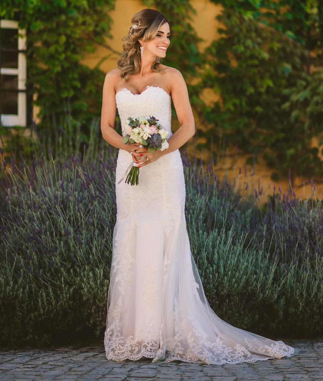 Maggie Sottero Custom Made Second Hand Wedding Dress On