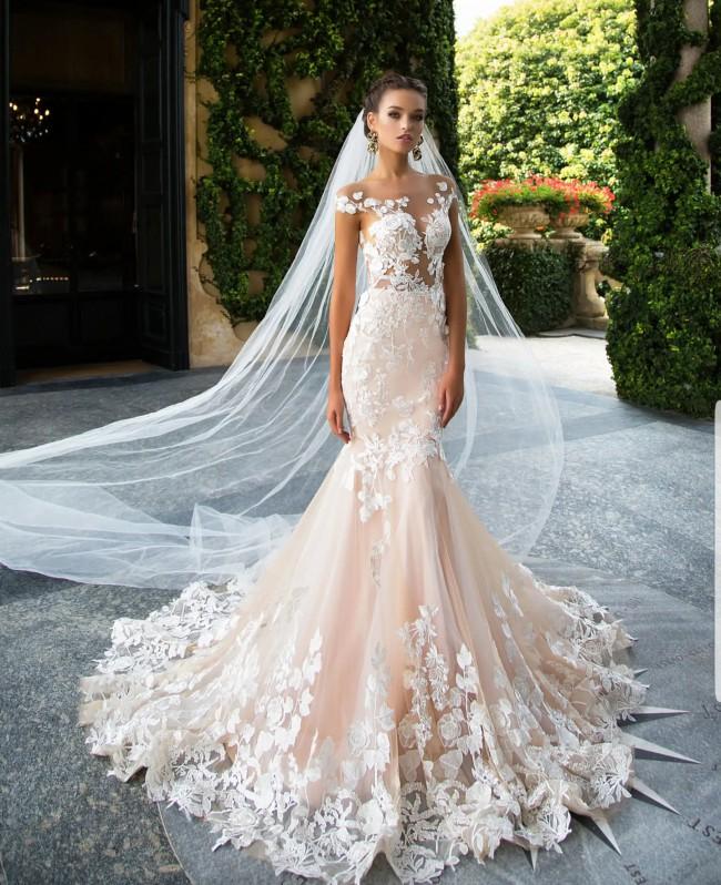 08ec5e1a4fd2 Milla Nova Betti-Brand New & Unaltered New Wedding Dress on Sale 48 ...