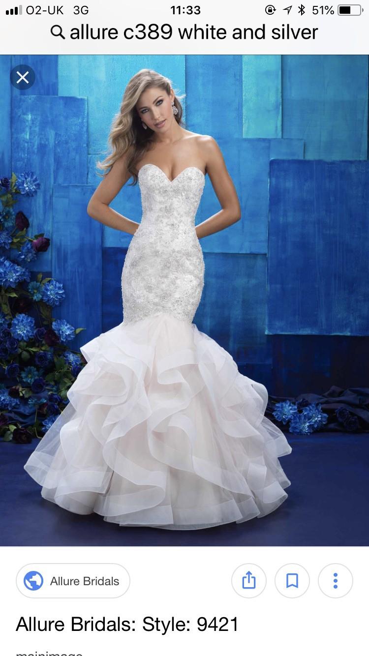 98dddb991e9 Allure Couture Mermaid Wedding Dress - Gomes Weine AG