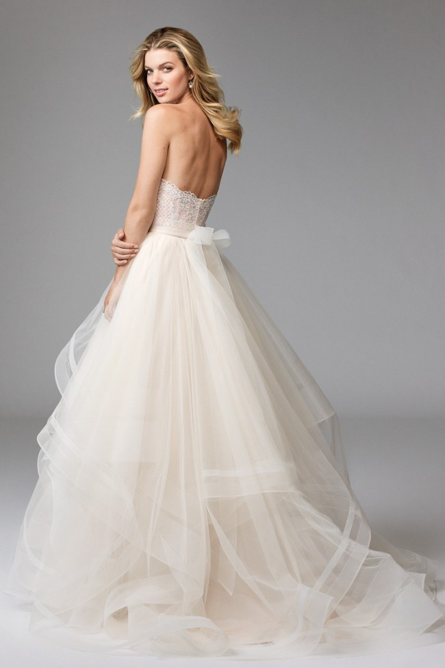 aa0f5decf2ab Watters Effie Skirt 17622 Second Hand Wedding Dress on Sale 41% Off ...