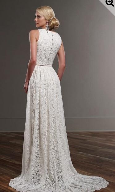 Martina Liana Tait Crop Top Separate Wedding Dress On Sale 82 Off