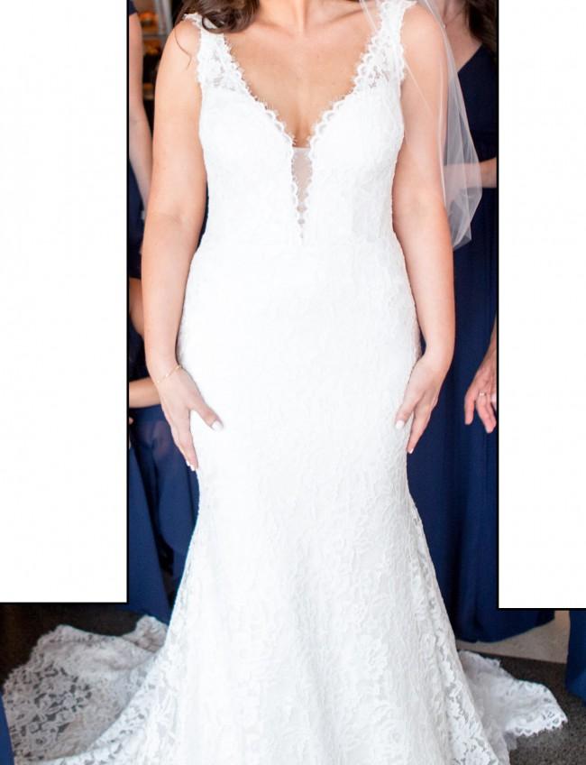 8ed4c8de7988 Pnina Tornai 33289570 Preowned Wedding Dress on Sale 71% Off ...