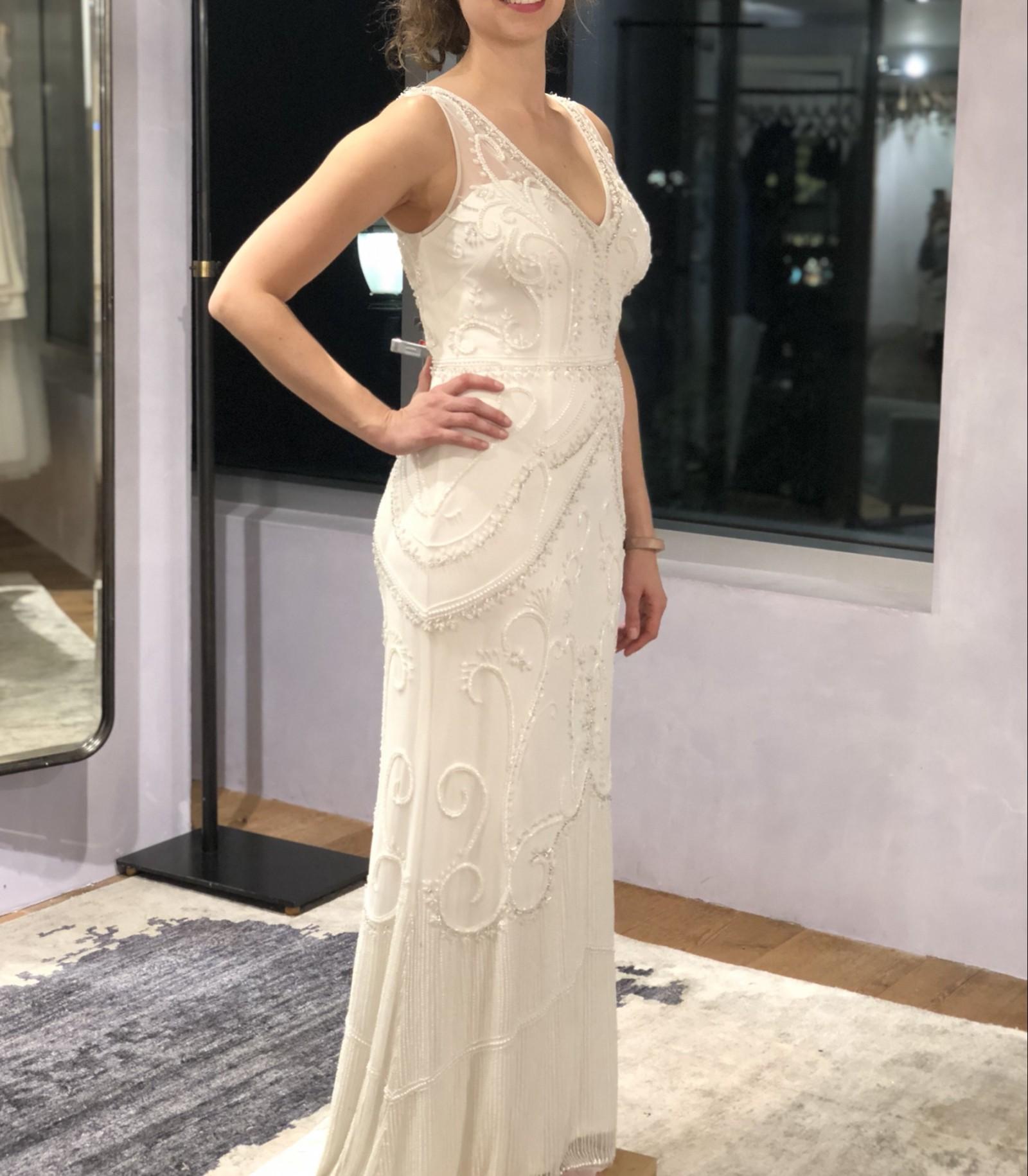 b676a7523d59 Bhldn Sorrento New Wedding Dress On Sale 20 Off Stillwhite United