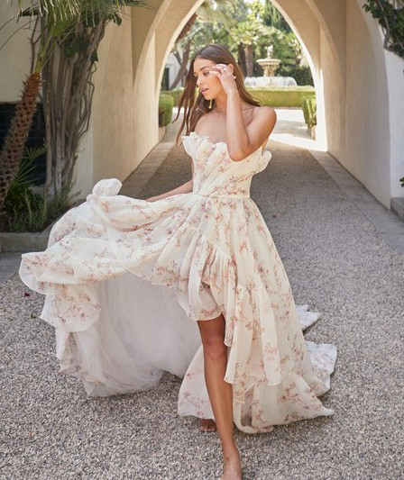 Monique Lhuillier Valencia Dress, Spring 2021