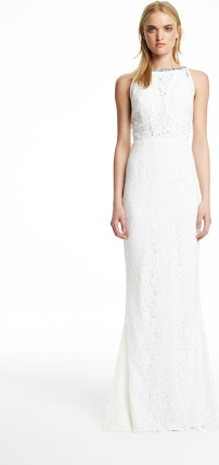 Rachel Gilbert Lainey Gown - Ivory