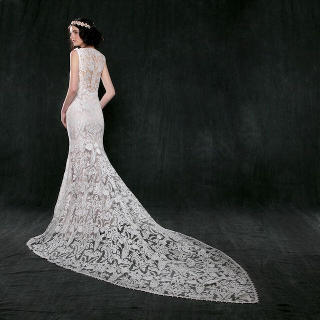 Sareh Nouri, Jonquil Lace Mermaid Gown