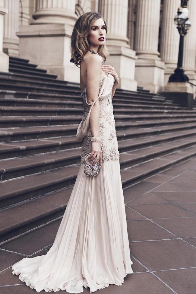Suzanne Harward, Silk chiffon haute couture