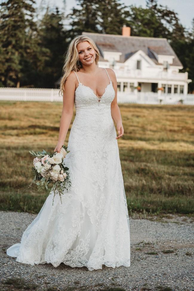 Allure Bridals 9605 Custom