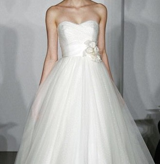 Christos Dotted tulle