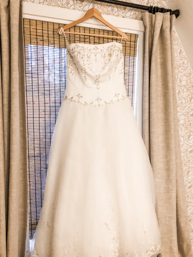 Casablanca Bridal Cinderella dress