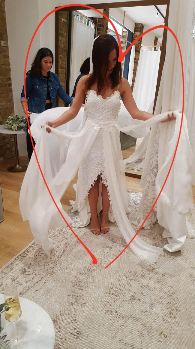 Grace Loves Lace Hollie 2.0 Never Worn