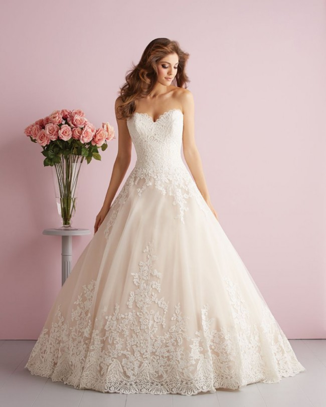 Allure Romance New with tags - 2701 Champagne/ivory