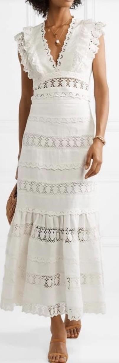 Zimmermann Wayfarer flutter top and skirt set size 0