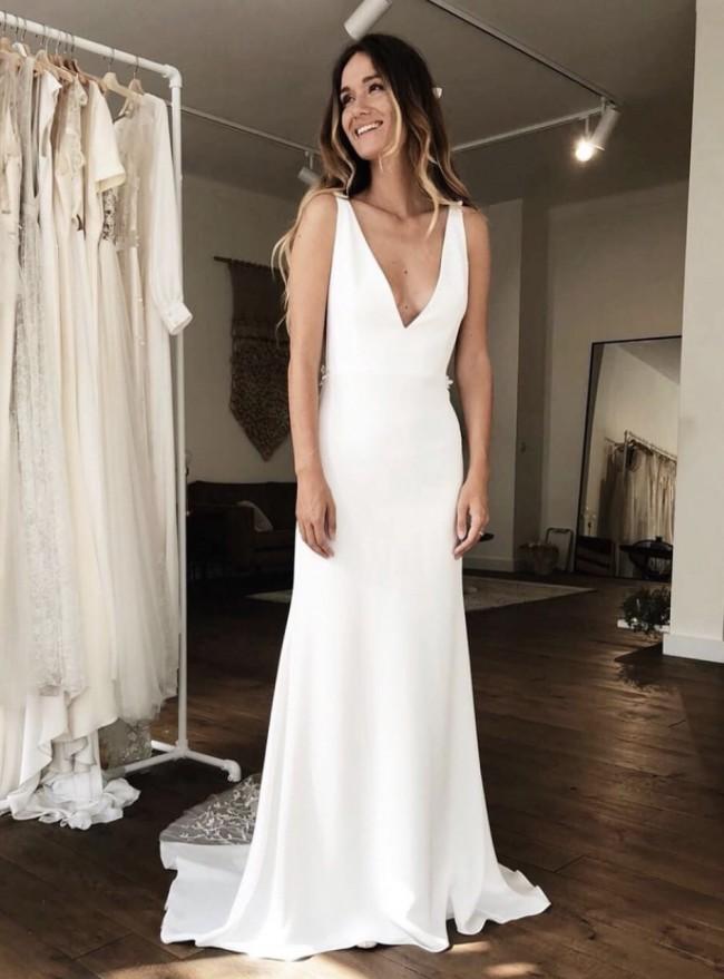 baa497e15590 Alexandra Grecco Stevie Second Hand Wedding Dress on Sale 42% Off ...