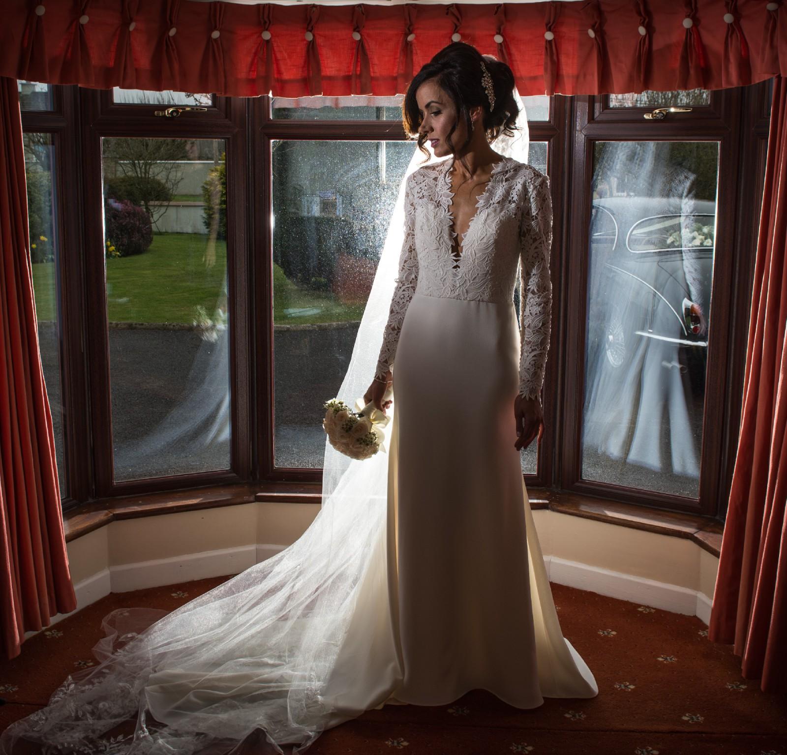 Tara Keely Wedding Gowns: Tara Keely TK2450 Preowned Wedding Dress On Sale 54% Off