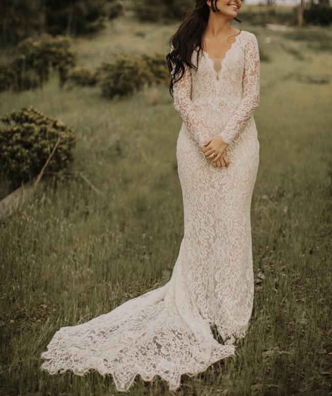 BHLDN Ridley gown