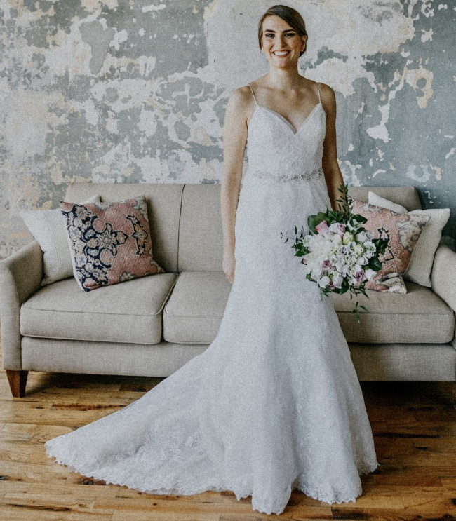 David's Bridal WG3981