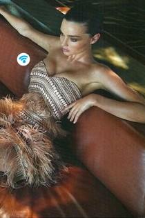 Thurley, Miranda Kerr dress