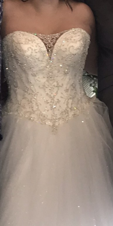 David's Bridal, V3849