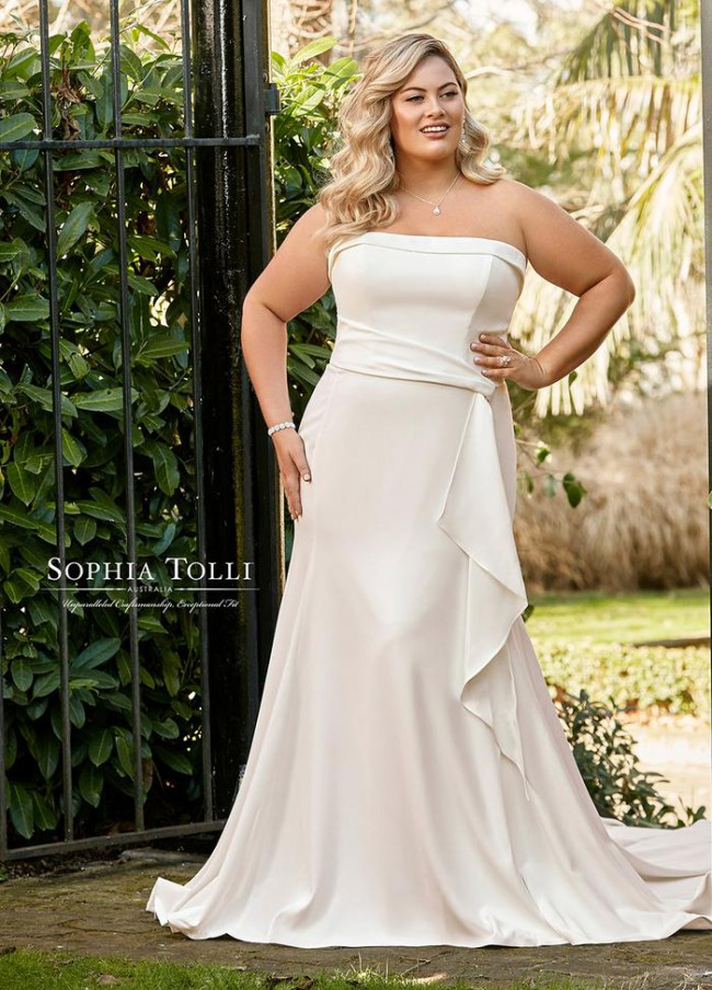 Sophia Tolli Y11955LS - JORDYN