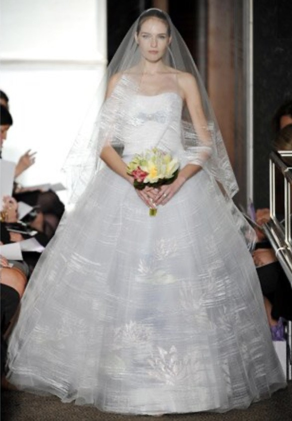 Carolina Herrera Special fashion line 2010 Monet water lilies