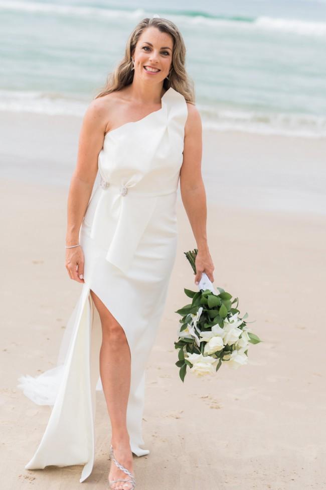 Rachel Gilbert Carmine Sleeveless Gown