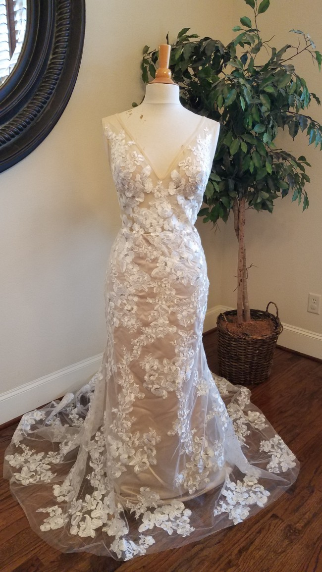 Custom Gown Sexy Lace Wedding Dress