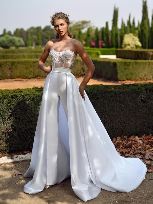 Galia Lahav, G-211 + Skirt | Collection 7