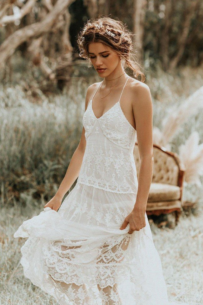 Spell And The Gypsy Canyon Moon Mesh Gown