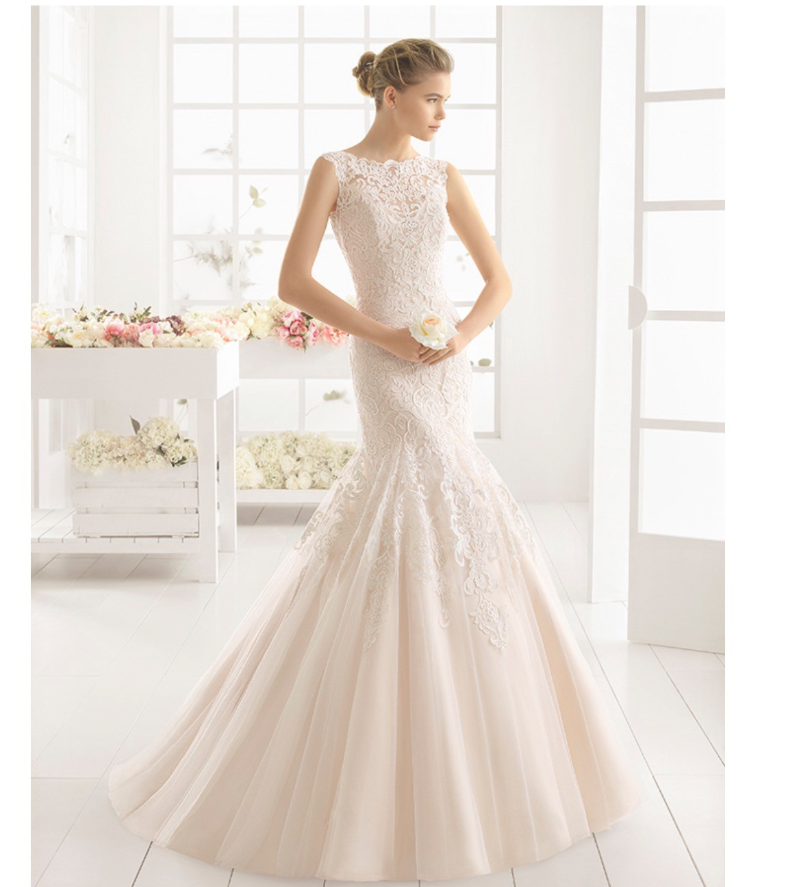 d4aaf7b67b Rosa Clara Matilde Second Hand Wedding Dress on Sale 66% Off ...